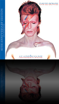 Aladdin Sane – 40th Anniversary Edition artwork